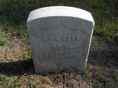 COOK, WILLIAM - Jones County, Iowa | WILLIAM COOK