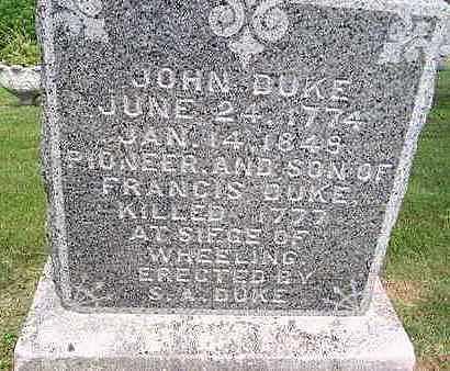 DUKE, JOHN - Jones County, Iowa | JOHN DUKE