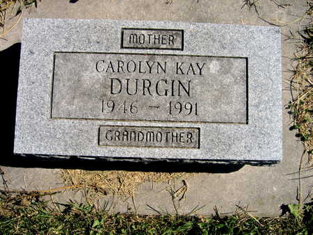 DURGIN, CAROLYN KAY - Jones County, Iowa | CAROLYN KAY DURGIN