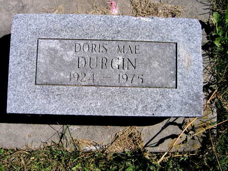 DURGIN, DORIS MAE - Jones County, Iowa | DORIS MAE DURGIN