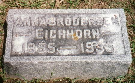 EICHHORN, ANNA - Jones County, Iowa | ANNA EICHHORN