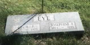 EYE, JOSEPHINE - Jones County, Iowa | JOSEPHINE EYE