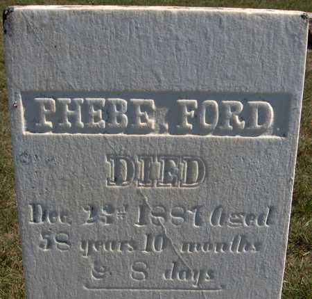 FORD, PHEBE - Jones County, Iowa | PHEBE FORD