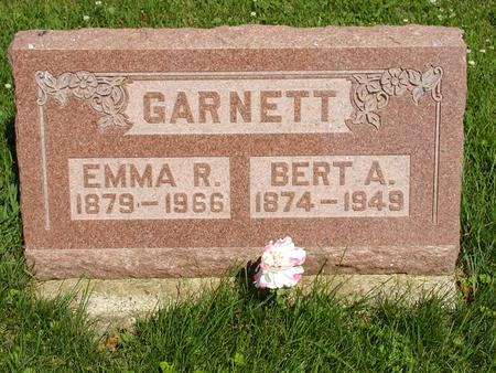 GARNETT, EMMA R - Jones County, Iowa | EMMA R GARNETT