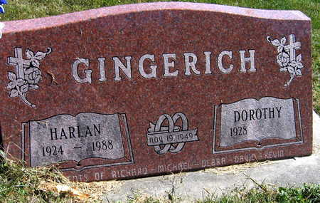 GINGERICH, HARLAN - Jones County, Iowa | HARLAN GINGERICH