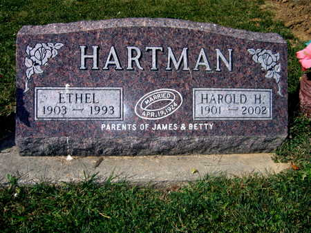 HARTMAN, ETHEL - Jones County, Iowa | ETHEL HARTMAN
