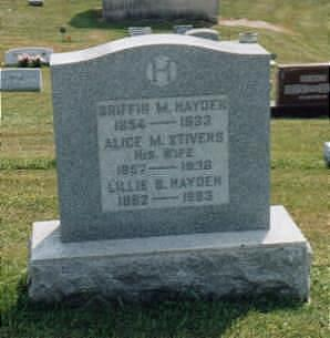 STIVERS HAYDEN, MARY ALICE - Jones County, Iowa | MARY ALICE STIVERS HAYDEN