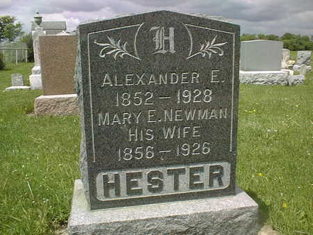 HESTER, MARY E. - Jones County, Iowa | MARY E. HESTER
