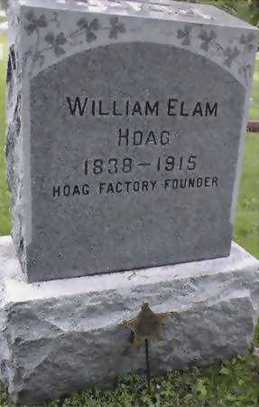 HOAG, WILLIAM ELAM - Jones County, Iowa | WILLIAM ELAM HOAG