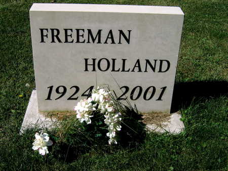 HOLLAND, FREEMAN - Jones County, Iowa | FREEMAN HOLLAND