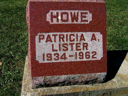 LISTER HOWE, PATRICIA A. - Jones County, Iowa | PATRICIA A. LISTER HOWE