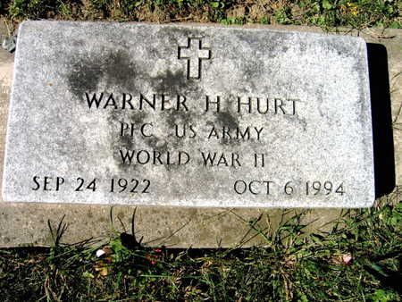 HURT, WARNER H. - Jones County, Iowa | WARNER H. HURT
