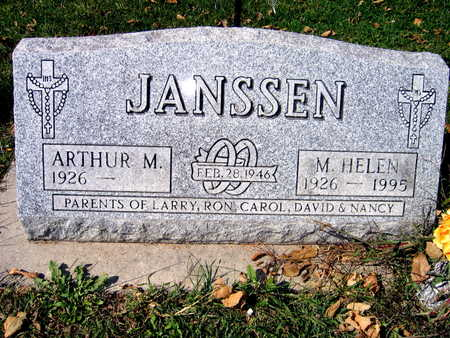JANSSEN, M. HELEN - Jones County, Iowa | M. HELEN JANSSEN
