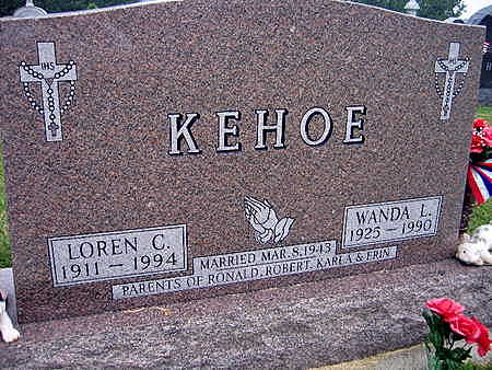KEHOE, LOREN C. - Jones County, Iowa | LOREN C. KEHOE