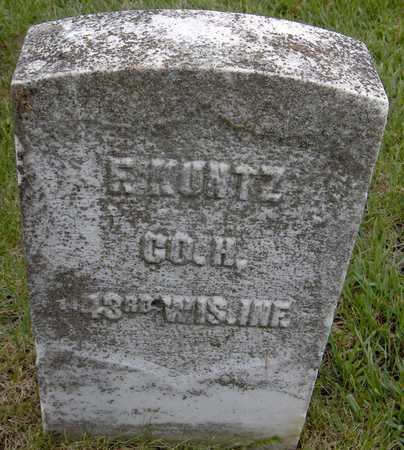 KUNTZ, F. - Jones County, Iowa | F. KUNTZ