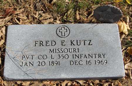 KUTZ, FRED E. - Jones County, Iowa | FRED E. KUTZ