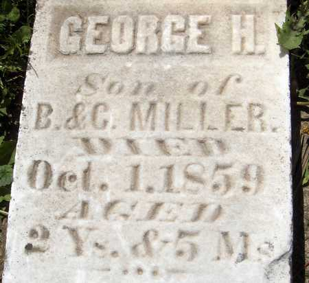 MILLER, GEORGE H. - Jones County, Iowa | GEORGE H. MILLER