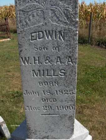 MILLS, EDWIN - Jones County, Iowa | EDWIN MILLS