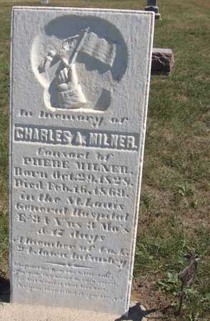 MILNER, CHARLES A. - Jones County, Iowa | CHARLES A. MILNER