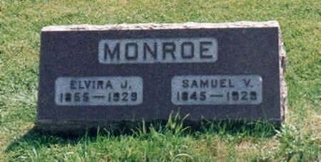 STIVERS MONROE, ELIVIA JANE - Jones County, Iowa | ELIVIA JANE STIVERS MONROE