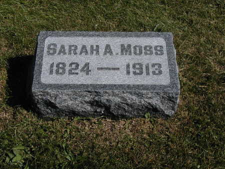 MOSS, SARAH A. - Jones County, Iowa | SARAH A. MOSS