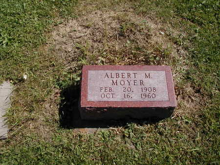MOYER, ALBERT M. - Jones County, Iowa | ALBERT M. MOYER