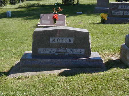 MOYER, ORA A. - Jones County, Iowa | ORA A. MOYER