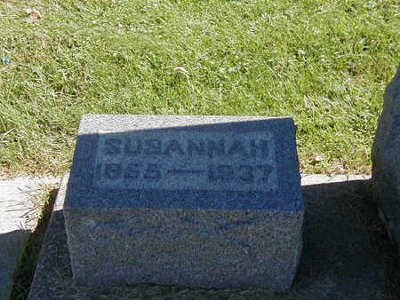 MOYER, SUSANNAH - Jones County, Iowa   SUSANNAH MOYER