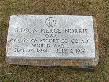 NORRIS, JUDSON PIERCE - Jones County, Iowa | JUDSON PIERCE NORRIS