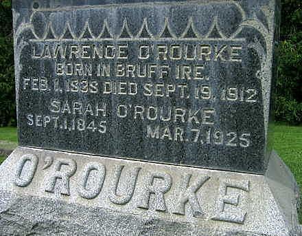 O'ROURKE, LAWRENCE - Jones County, Iowa | LAWRENCE O'ROURKE