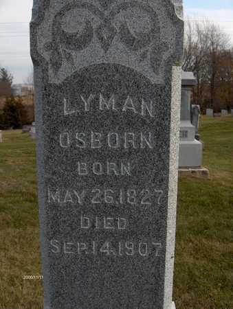 OSBORN, LYMAN - Jones County, Iowa | LYMAN OSBORN