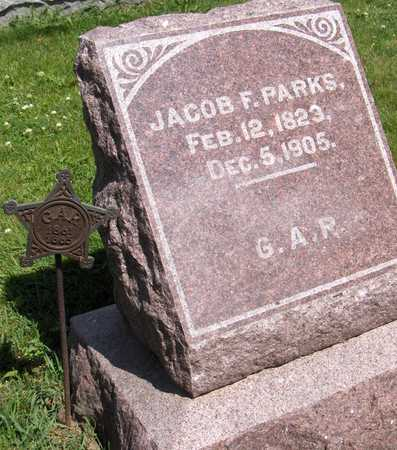 PARKS, PVT. JACOB F. - Jones County, Iowa | PVT. JACOB F. PARKS