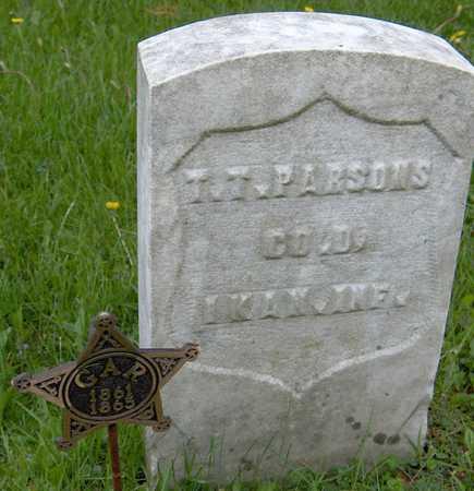 PARSONS, T.T. - Jones County, Iowa   T.T. PARSONS