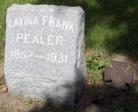 PEALER, LAVINA - Jones County, Iowa | LAVINA PEALER