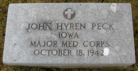 PECK, JOHN HYREN - Jones County, Iowa | JOHN HYREN PECK