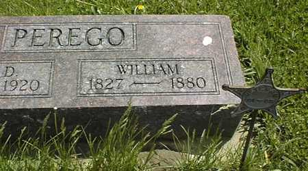 PEREGO, WILLIAM - Jones County, Iowa | WILLIAM PEREGO