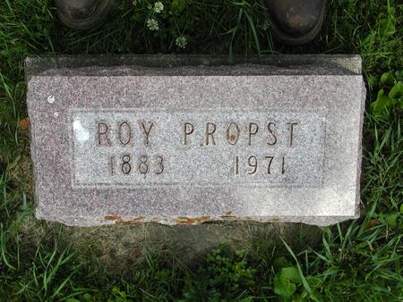 PROPST, ROY - Jones County, Iowa | ROY PROPST
