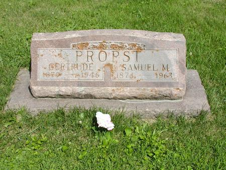 PROPST, SAMUEL M. - Jones County, Iowa | SAMUEL M. PROPST