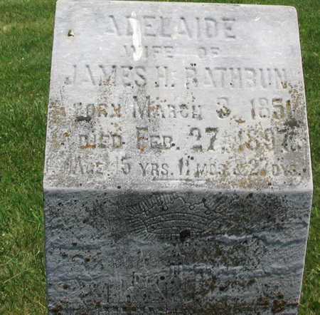 RATHBUN, ADELAIDE - Jones County, Iowa | ADELAIDE RATHBUN