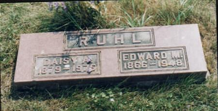 RUHL, EDWARD M. - Jones County, Iowa | EDWARD M. RUHL