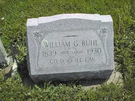 RUHL, WILLIAM D. - Jones County, Iowa | WILLIAM D. RUHL