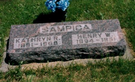 SAMPICA, HENRY WILLIAM - Jones County, Iowa | HENRY WILLIAM SAMPICA