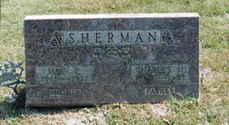 COUNTRYMAN SHERMAN, MARY ELIZABETH - Jones County, Iowa | MARY ELIZABETH COUNTRYMAN SHERMAN