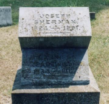 REED SHERMAN, CLARISSA E. - Jones County, Iowa | CLARISSA E. REED SHERMAN