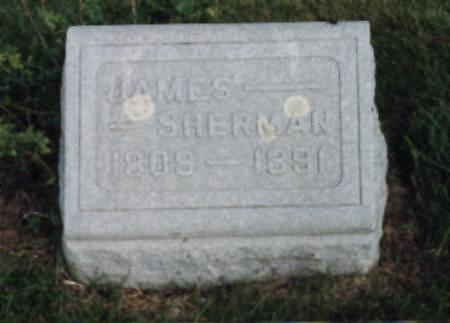 SHERMAN, JAMES - Jones County, Iowa | JAMES SHERMAN