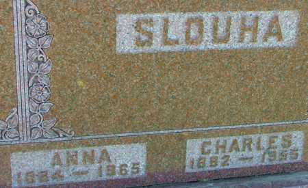 SLOUHA, CHARLES & ANNA - Jones County, Iowa | CHARLES & ANNA SLOUHA