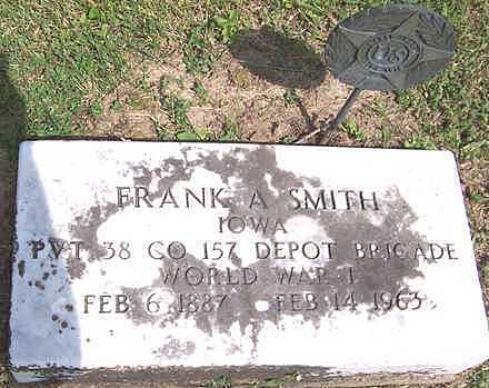 SMITH, FRANK A. - Jones County, Iowa | FRANK A. SMITH