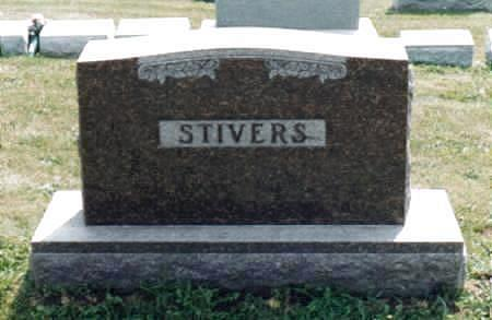 CARTER STIVERS, IDA ELMA - Jones County, Iowa | IDA ELMA CARTER STIVERS