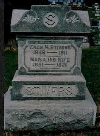STIVERS, ENOS - Jones County, Iowa | ENOS STIVERS