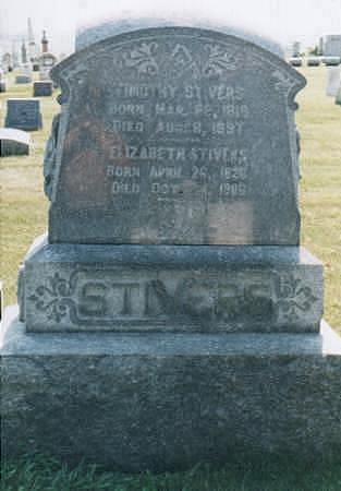 BAUGH STIVERS, ELIZABETH - Jones County, Iowa | ELIZABETH BAUGH STIVERS